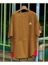 FRAPBOIS レイヤードTシャツ フラボア カットソー Tシャツ ブラウン グレー ネイビー【送料無料】