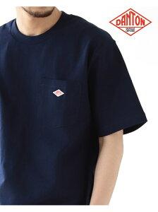 BEAMS MEN DANTON / Logo Pocket Tee ビームス メン カットソー Tシャツ ホワイト グレー ブラック ネイビー【送料無料】