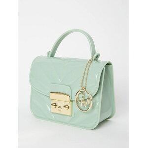 [OFERTA / 10% DE DESCUENTO] CECIL McBEE Mini bolsa de PVC acolchada Cecil McBee Bag Bolsa de hombro Verde Negro Rojo