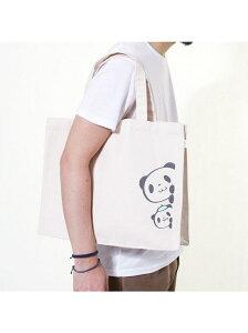 お買いものパンダ お買い物パンダ/プリントキャンバスバッグ(大) おかいものぱんだ