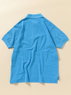 70s Drop Tail Polo 112-12-1019: Blue