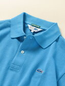 Ships x Lacoste 70s Drop Tail Polo 112-12-1019: Blue