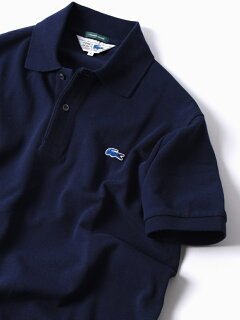 70s Drop Tail Polo 112-12-1019: Navy