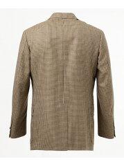 J. Press Gun Club Check 3 Button Sack Sportcoat JKOVYW0010: Brown