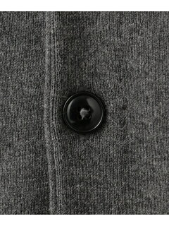 J. Press Cotton Cashmere Sweater Waistcoat KROVKS0062: Grey