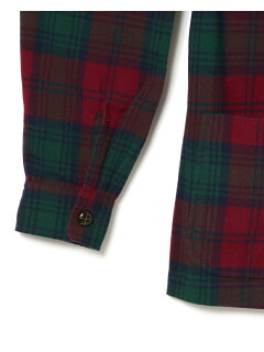 Tartan 4 Button Jacket 11-16-1671-791: Burgundy