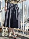 【SALE/10%OFF】UNRELISH ツイルフレアースカート アンレリッシュ スカート【RBA_S】【RBA_E】【送料無料】