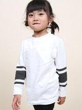 【coen kids】フットボールTシャツ(100〜150cm)