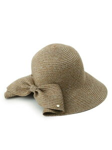 【SALE/20%OFF】Dessin UVカット吸水速乾サマーハット デッサン 帽子/ヘア小物 ハット ブラウン ベージュ