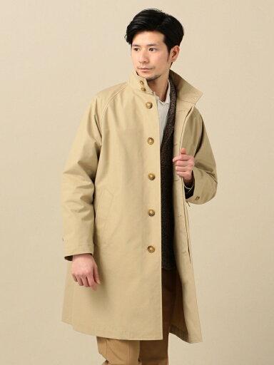 Stand Collar Coat 114-10-0053: Beige
