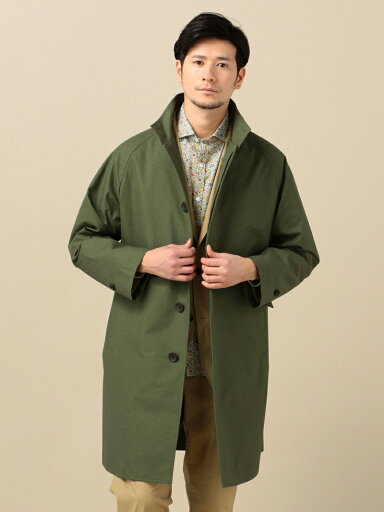 Stand Collar Coat 114-10-0053: Olive