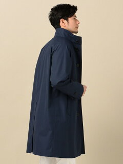Stand Collar Coat 114-10-0053: Navy