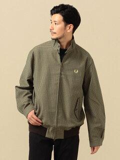 Harrington Jacket 114-04-0226: Brown