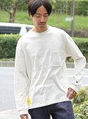 coen 【1M】ドライジャージポケットロングスリーブTシャツ コーエン