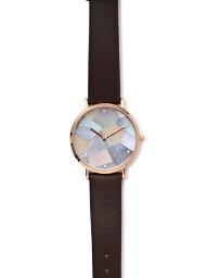 ROSE BUD リリーローズゴールド ローズバッド ファッショングッズ 腕時計 ブラウン【送料無料】
