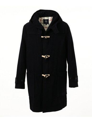 Wool Corduroy Duffle Coat COOVYW0316: Navy