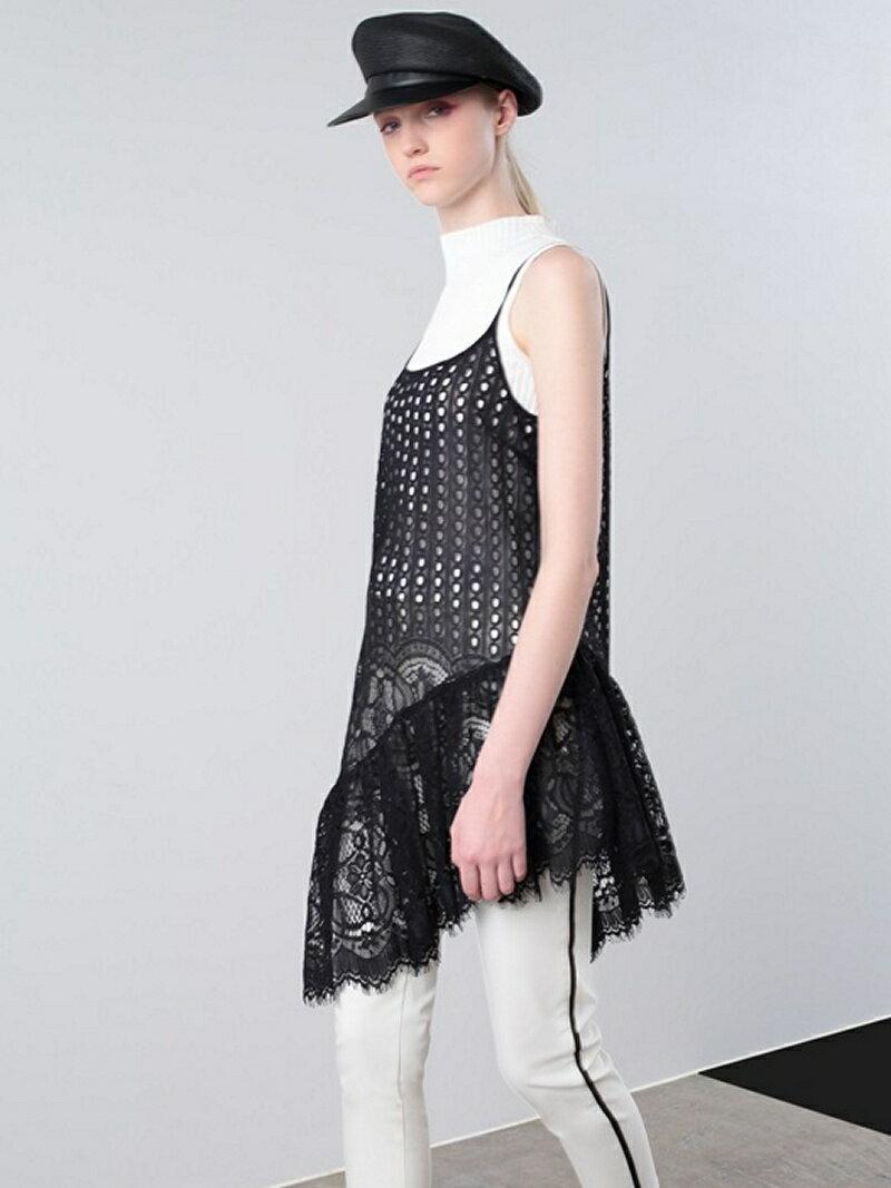 レディースファッション, ワンピース SALE30OFFAULA PANEL CORD LASE ONE PIECE