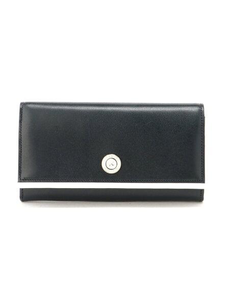 Kitamura(W)長財布NH0779キタムラ財布/小物財布ネイビーブラック