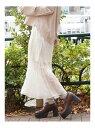dazzlin シャインカラーフレアスカート ダズリン スカート フレアスカート ホワイト グリーン ブラウン【送料無料】