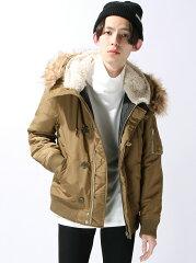 WEGO メンズ コート/ジャケット ウィゴー【送料無料】WEGO (M)N-2Bジャケット ウィゴー