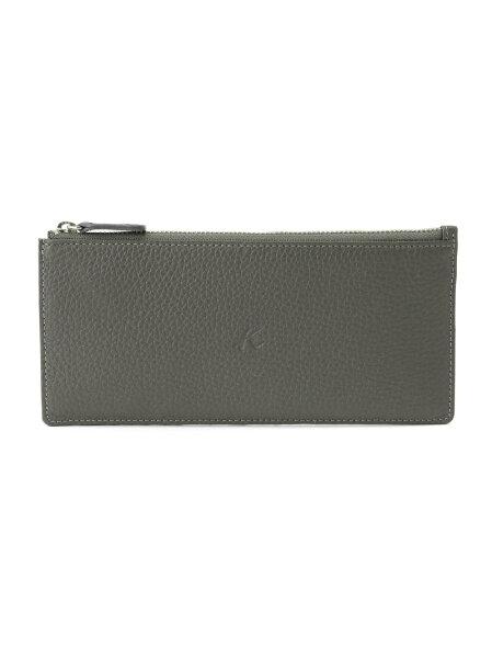 Kitamura(M)長財布ZH0422キタムラ財布/小物財布グレーブラックレッド