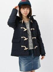 【40%OFF】【送料無料】X-girl STAR QUILTING DUFFEL COAT エックスガール コート/ジャケット【RBA_S】【RBA_E】