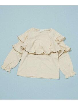 【SALE/60%OFF】BIZZU チュニック ナノユニバース カットソー Tシャツ ホワイト パープル