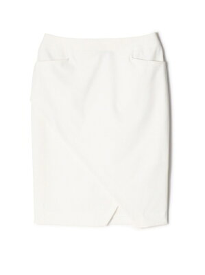 武井咲さん1話衣装 ドライギャバラップ風タイトスカート