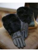 【SALE/49%OFF】nano・universe ボリュームrex rabbit fur ナノユニバース ファッショングッズ【RBA_S】【RBA_E】【送料無料】