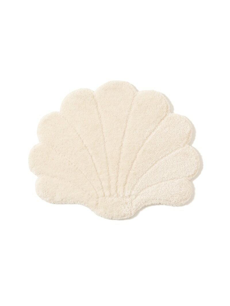 Francfranc シェル ピクト マット 700×560 フランフラン 生活雑貨 インテリアファブリック(クッション・テーブルクロス) ホワイト
