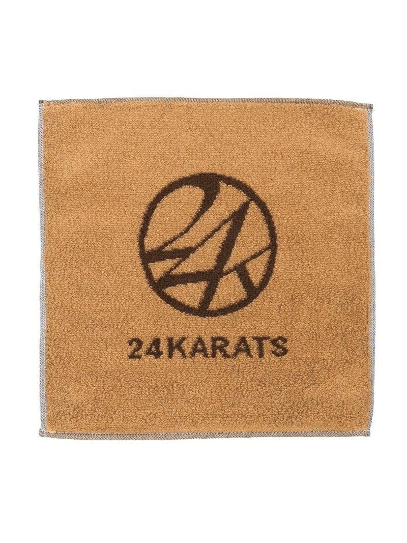 ハンカチ・ハンドタオル, レディースハンカチ 24karats 24KARATS(U)Logo Hand Towel