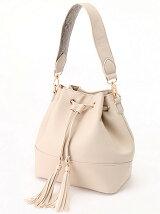 タッセルデザイン巾着型Bag