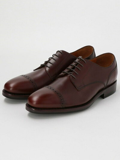 Punched Cap Toe Derby 3131-499-0499: Mocha