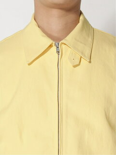 Cotton Twill Zip Blouson 11-18-5280-803: Yellow