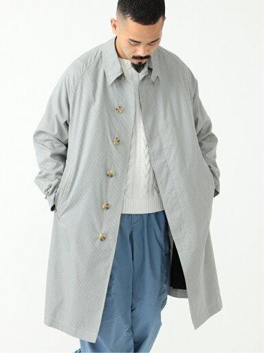 Cotton Silk Chambray Bal Collar Coat 11-19-1271-803