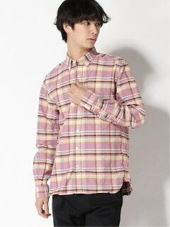 Faded Check Buttondown Shirt 11-11-5971-139