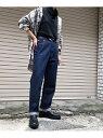 PAGEBOY クラシックストレート ページボーイ パンツ/ジーンズ ストレートジーンズ ネイビー ブルー【送料無料】