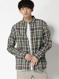 Madras Buttondown Shirt 11-11-5974-139: Green