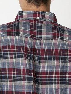 Madras Buttondown Shirt 11-11-5974-139: Purple