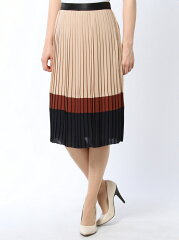 LOVELESS トリコロールプリーツスカート ラブレス【送料無料】