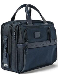 Expandable Organizer Laptop Brief 118-43-3204: Navy