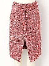 ネップウールスカート