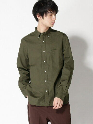 Broadcloth Buttondown Shirt 11-11-5968-563: Olive