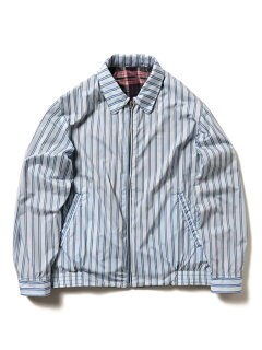 Reversible Polyester Blouson 11-18-4448-139: Black