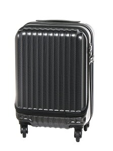 ESCAPE'S ジッパーハードスーツケース47cm30Lフロントオープン シフレ バッグ【送料無料】