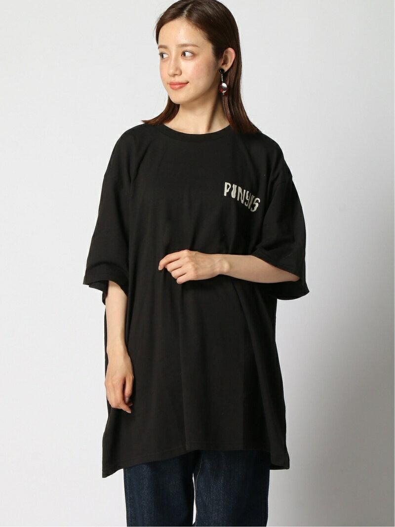 トップス, Tシャツ・カットソー PUNYUS (W)COWT T