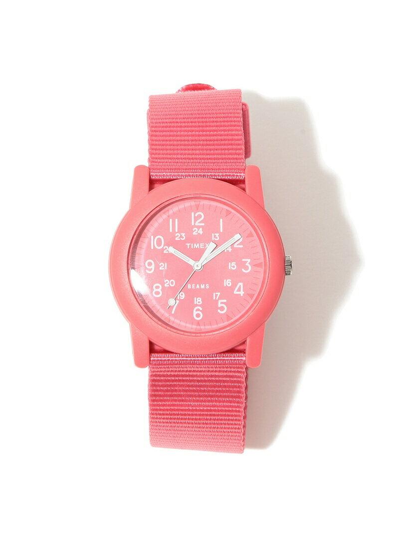 タイメックス×ビームス 別注キャンパー ピンク