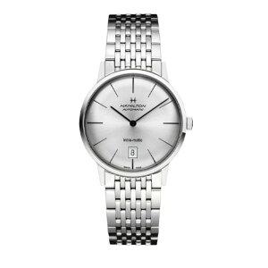 汉密尔顿(美国)美国经典INTRA-MATIC AUTO汉密尔顿时尚商品手表银色免费送货