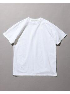 【SALE/40%OFF】BEAMS MEN BEAMS / Swiss Cotton Crew Neck T-Shirt ビームス メン カットソー Tシャツ ホワイト ネイビー【送料無料】