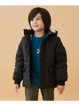 3can4on(Kids) 【150cmまで】【2WAY】裏ボアフーデッドブルゾン サンカンシオン コート/ジャケット【送料無料】